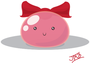 Pink Jelly Vector by Myrdah
