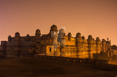 Gwalior Fort by harikul