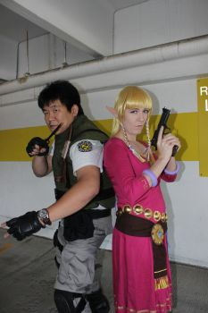 Chris Redfield Shoot Special: The Team Up by SkyeMakoto