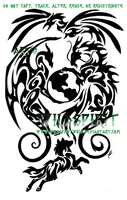 Animals And Earth Tattoo by WildSpiritWolf
