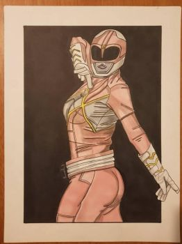 Kimberly from power rangers by yorkshirepudding1990