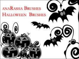 halloween  Brushes by anaRasha-stock