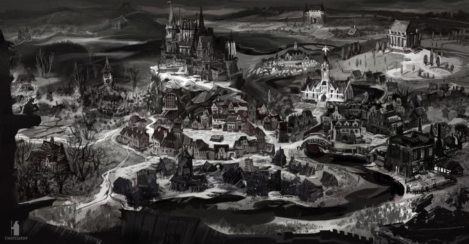 The Executioner a town map by DartGarry