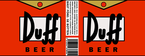 DUFF beer by aalmar