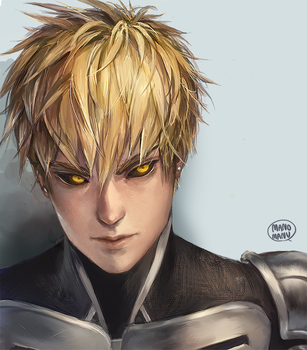Genos by Mano-chan