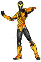 Sinestro Redesign Final Colours by kameleon84