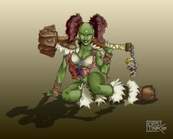 WoW - Orc Female by DiosaWoW