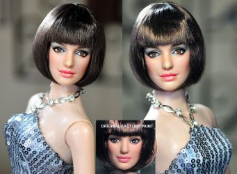 Anne Hathaway Agent 99 doll by noeling