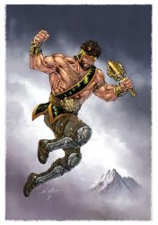 Hercules, Prince of Power! by SpiderGuile