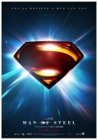 Man Of Steel 2013 Teaser by Medusone
