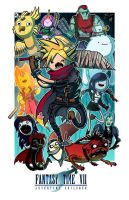 Fantasy Time VII - Collab w/ Mike Vasquez by JoeHoganArt