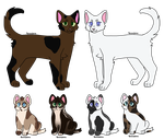 Brownstar and RabbitChaser | Kit adopts | [CLOSED] by emmbug124