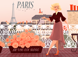 Paris by Katherine-Olenic