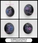 Galaxy Gems - Pink and Blue Group 4 Unique Pieces by cutekick