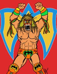 The Ultimate Warrior RIP 1959 - 2014 by MarkG72