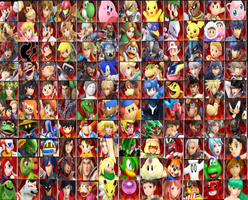 Random Smash Roster Update by MrYoshi1996