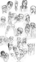 HTTYD sketches by RedRoseQueen