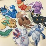 [o] Eeveelution Stickers | $1 each or set for $7 by S3RVA1