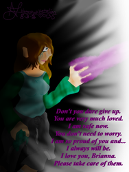 Don't give up... I love you. by HomestuckHetalian