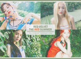 Red Velvet [The Red Summer] photopack by YEONCIN by yeoncin