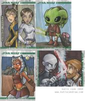clone wars returned cards pt.1 by katiecandraw