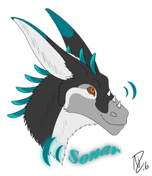 Sonar Badge by KyuubiNicole