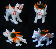 Okami : Amaterasu finished 2 by CyanFox3