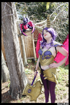 Armored Spyro the Dragon Cosplay by KrazyKari