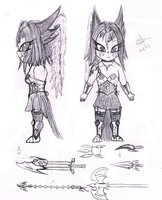 New Character Reference by HellKnightDan