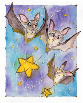Starry Flight by The-Hare