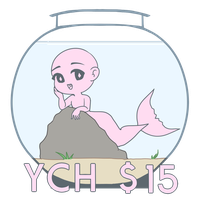 [OPEN] YCH - Mermaid by mareuseu-adopts