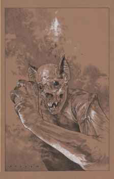 Homo Chiroptera Cover prelim 2 by stevenrussellblack