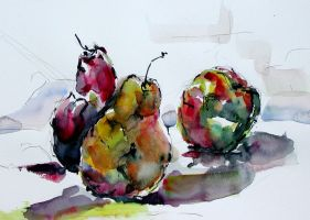 QS - Pears and Apple by BRipin