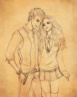 Teddy and Victoire by eliz7