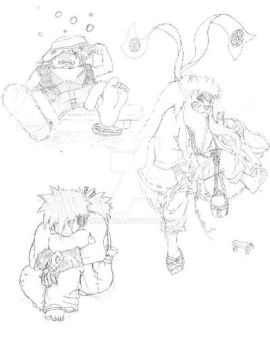 More Sketches by Akatama