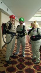 Ghostbusters MKD The Team by Undertakoshi