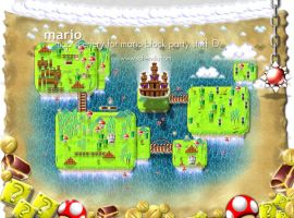 Super Mario, Map by softendo