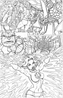 FANTASTIC FOUR page 004 by nathanscomicart
