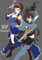 WIP - Diphridias Sisters, updated by ADSouto