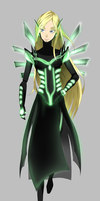 Cornelia's Cyber Space form for Hacker W.I.T.C.H. by XVDragon