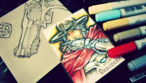 Trading Card # 5 McCree by KKSlider7