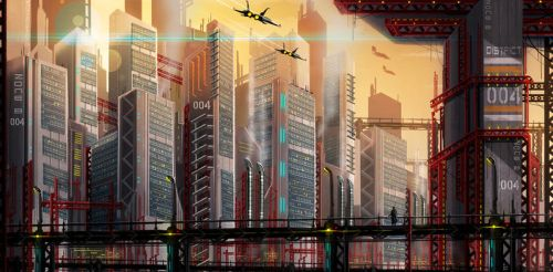 Mega City / District 04 by GMORK81