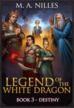 Legend of the White Dragon Book 3 by PRDart