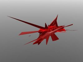 Red Abstract 3dsmax by AKLP