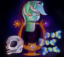 Lyra's Lyre by Jaywalk5