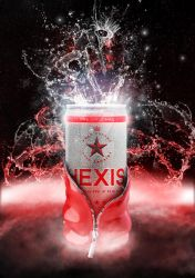 Hexis energy drink by rainth34