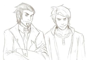Sigismund and Erik by wristwatchwitch