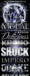 free metal chrome pack styles by Giallo86