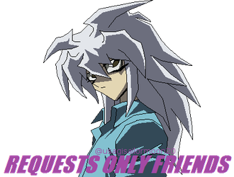 Yami Bakura - Requests Only Friends by usagisailormoon20