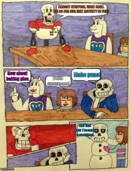 Undertale Boardroom Meeting Suggestions by Cooldud111